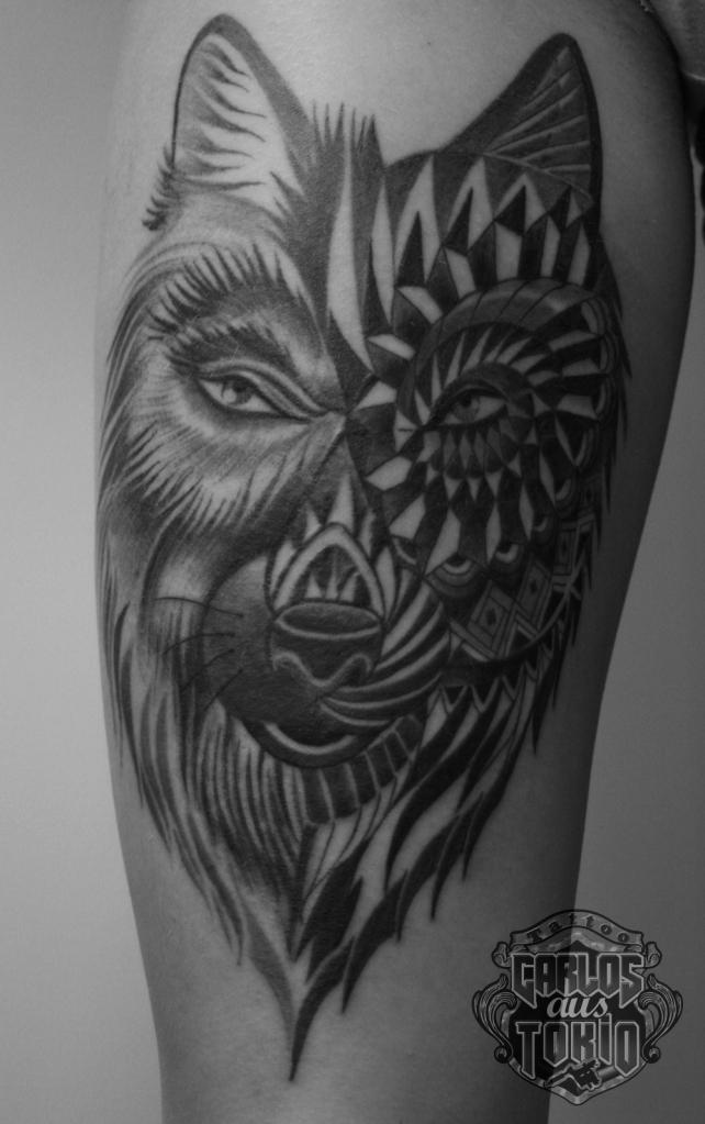 幾何学模様タトゥーornamental tattoo2