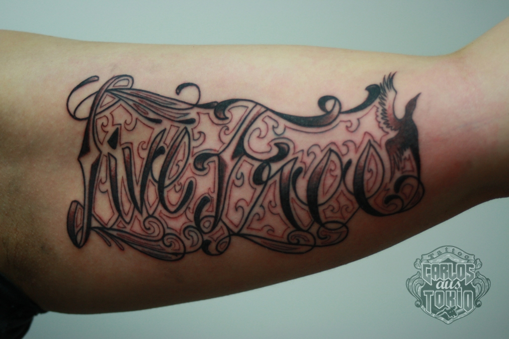 lettering tattoo carlos cologne1