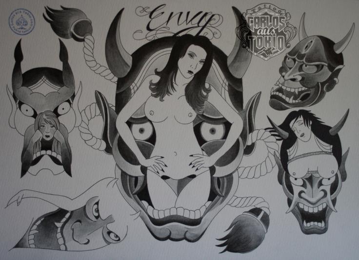seven sins tattoo1