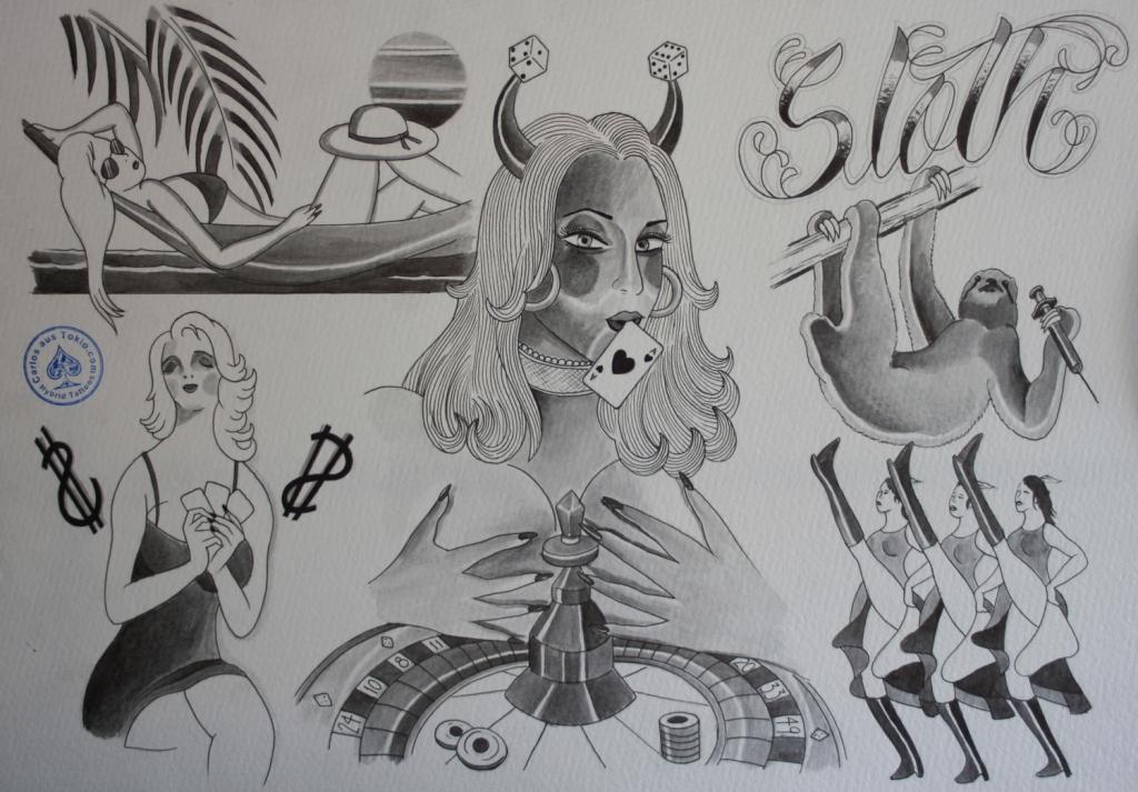 seven sins tattoo7
