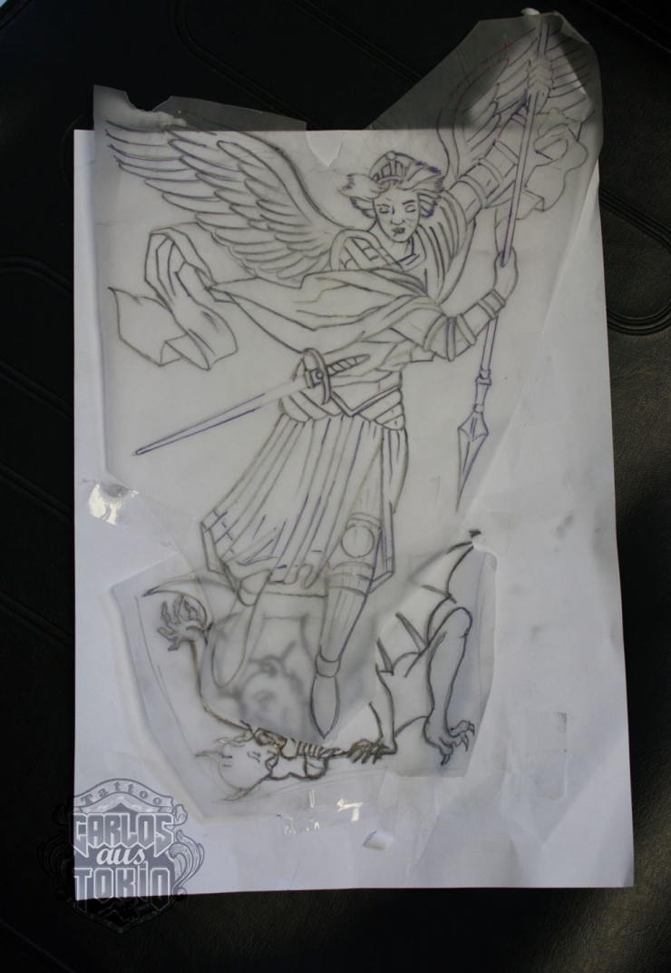 archangel tattoo1