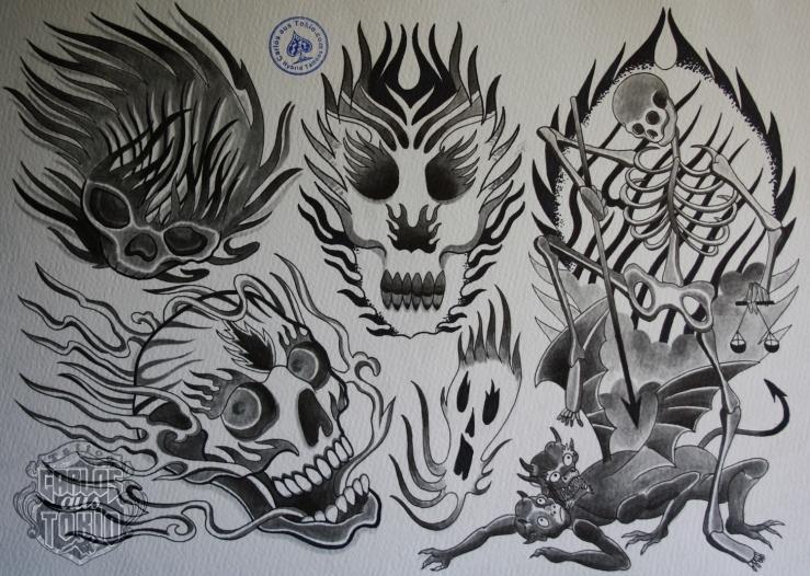 four elements tattoo2