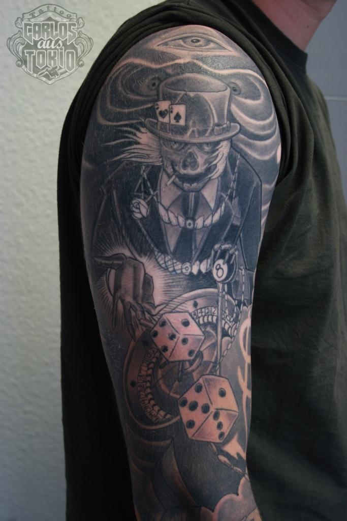 skull totenkopf tattoo2a