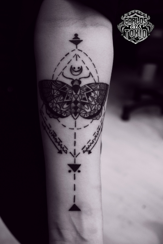 ornamental tattoo female1