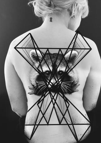Ornamental Tattoo Carlos aus Tokyo Cologne Tattoo 3