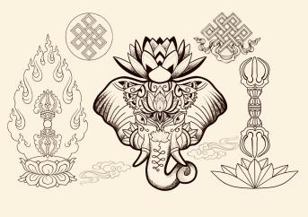 Ornamental Tattoo Carlos aus Tokyo Cologne Tattoo 7