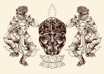 Ornamental Tattoo Carlos aus Tokyo Cologne Tattoo 11