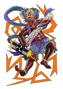 Thor Raijin Carlos aus Tokyo Cologne Tattoo 4