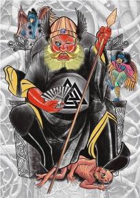 Odin Shoki Carlos aus Tokyo Cologne Tattoo 2